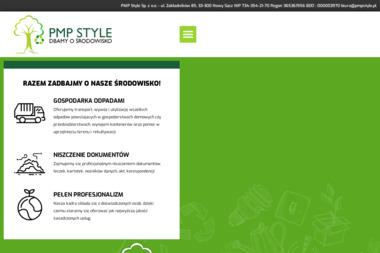 PMP Style Sp. z o.o. - Wywóz Gruzu Nowy Sącz