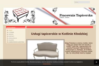 Pracownia Tapicerska  Tomasz Krupa - Usługi Tapicerskie Kłodzko