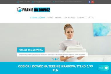 PRANIE NA DOWÓZ - Pranie i prasowanie Kraków
