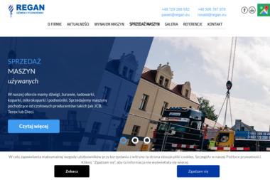 REGAN Sp. z o.o., Sp.k. - Koparko-ładowarki Solec Kujawski
