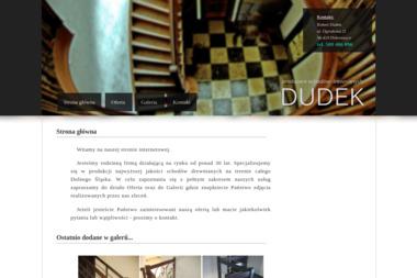 Dudek - Schody drewniane - Schody drewniane Dobroszyce