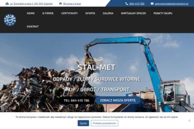 """Przedsiębiorstwo Produkcyjno-Handlowo-Usługowe """"STAL-MET"""" - Auto złom Gdańsk"""