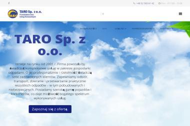 Przedsiębiorstwo Usług Komunalnych TARO Sp. z o.o. - Przetwarzanie odpadów Białe Błota