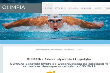 OLIMPIA - Szkoła pływania i turystyka - Nauka pływania Świecie