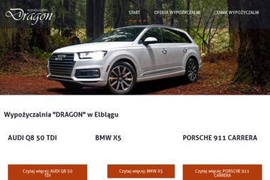 """Wypożyczalnia """"DRAGON"""" - Wypożyczalnia samochodów Elbląg"""