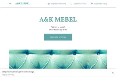 A&K MEBEL - Tapicer Lubań