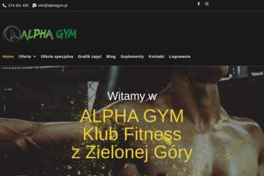 ALPHA GYM - Trener personalny Zielona Góra