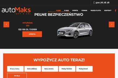 AutoMaks - Wypożyczalnia samochodów Szczecin