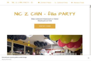 NIC Z CHIN PARTY - Balony z Helem - Balony z helem Kraków