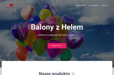 KSIĘGARNIA RADZYMIN - Balony z helem Radzymin