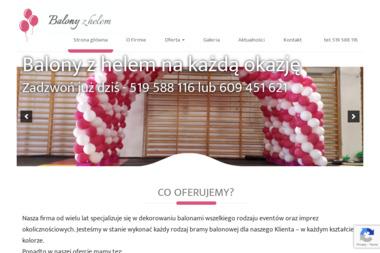 BALONY Z HELEM - Balony z helem Warszawa