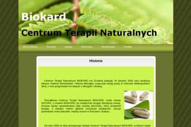 Centrum Terapii Naturalnych Biokard - Masa偶 Ostrów Wielkopolski