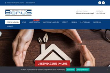 """""""BonuS"""" Ubezpieczenia - Ubezpieczenia OC Maków Podhalański"""