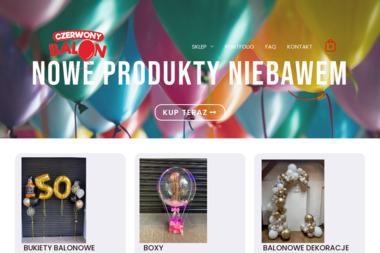 Czerwony Balon - Balony z helem Opole