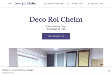 Deco Rol - Okna Chełm
