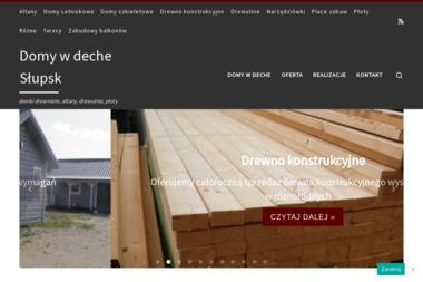 Domy w deche - Belki Dachowe Głobino