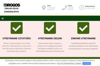 DROGOS - Odśnieżanie Chodników Stanica