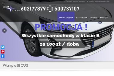 EB CARS - Wypożyczalnia samochodów Kalisz