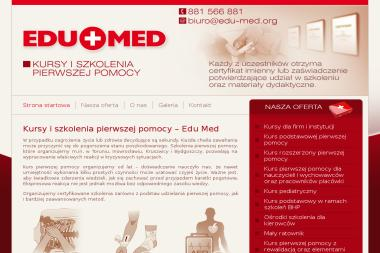 Biuro Ośrodka Szkoleniowego Edu-Med P.Z. - Szkolenie z Pierwszej Pomocy Kruszwica