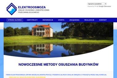 Elektroosmoza - Odwodnienie Domu Rzeszów