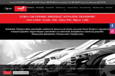 Euro-Car - Wypożyczalnia samochodów Janów Lubelski