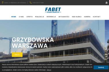 Fabet- Konstrukcje Sp. z o.o. - Zbrojarz Kielce