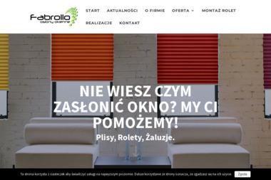 Fabrollo - Rolety zewnętrzne Szczecin