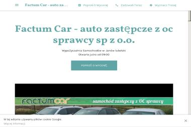 Factum Car - Wypożyczalnia samochodów Janów Lubelski