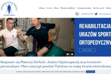 Fizjoterapeuta Mateusz Derlecki - Rehabilitanci medyczni Olsztyn