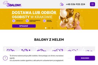Flying Balloon - Balony z helem Kraków
