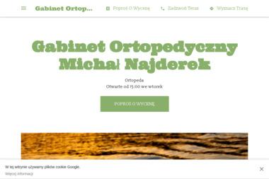Gabinet Ortopedyczny Michał Najderek - Ortopeda Kaczory