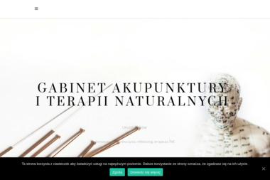 Gabinet Akupunktury i Terapii Naturalnych Urszula Józków - Akupunktura Warszawa