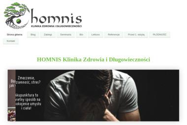 KLINIKA ZDROWIA I DŁUGOWIECZNOŚCI HOMNIS - Akupunktura Poznań
