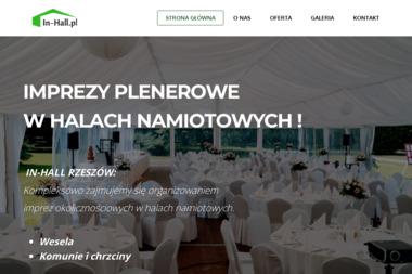 In Hall - Namioty do Wynajęcia Stalowa Wola