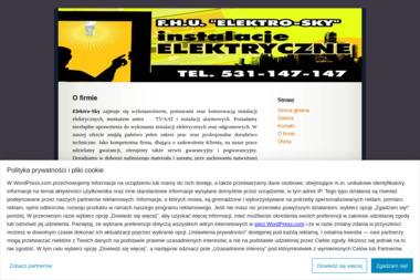 """F.H.U. """"Elektro-Sky"""" - Alarmy Częstochowa"""