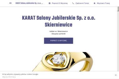 KARAT Salony Jubilerskie Sp. z o.o. - Rzemiosło Skierniewice
