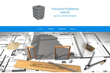 Pracownia Projektowa KON-EX mgr inż. Gabriela Kowalska - Kierownik Budowy Świętoszówka