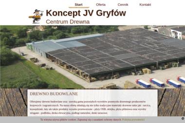 Koncept JV - Skład drewna Gryfów Śląski