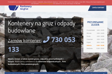 Kontenery na gruz - Wywóz Papy Świdnica
