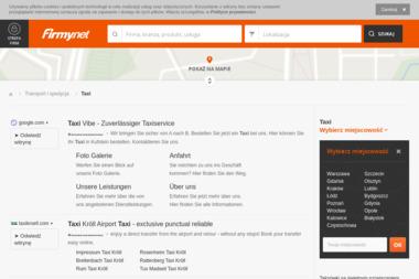 Lasowiak Taxi tel. 668 830 373 - Przewóz osób Stalowa Wola