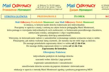 Mali Odkrywcy - Przedszkole Legnica