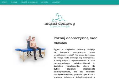 Masażysta Szymon Strojek - Masaże dla Dwojga Lublin