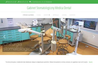 Gabinet Stomatologiczny Medica Dental - Leczenie Kanałowe Białystok