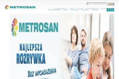 Metrosan Sp z o.o. - Internet Sanok