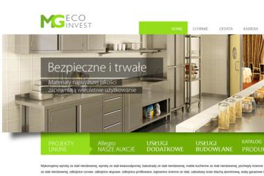 MG ECO INVEST - Balustrady nierdzewne Golub-Dobrzyń