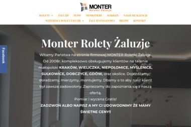 Monter - Żaluzje, moskitiery Dobczyce