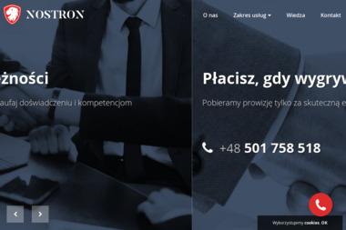 NOSTRON - Skup Długów Świętochłowice