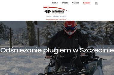 Odśnieżanie na Quadach - Odśnieżanie Szczecin