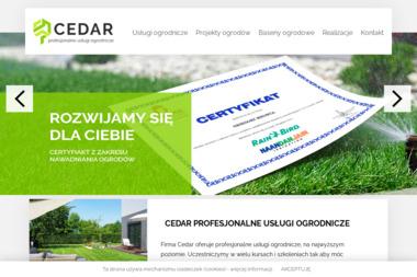 OGRODY CEDAR - Prace działkowe Rożnów