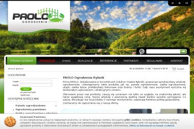 PAOLO OGRODZENIA - Ogrodzenie Modułowe Pilchowice